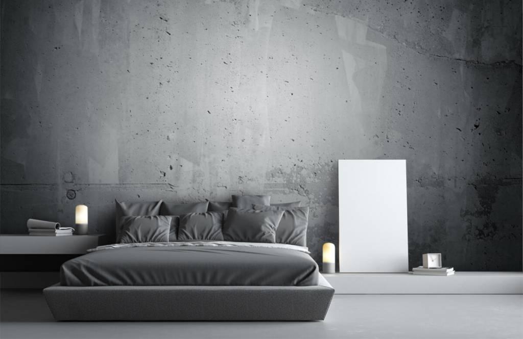 Concrete look wallpaper - Raw concrete - Management 1