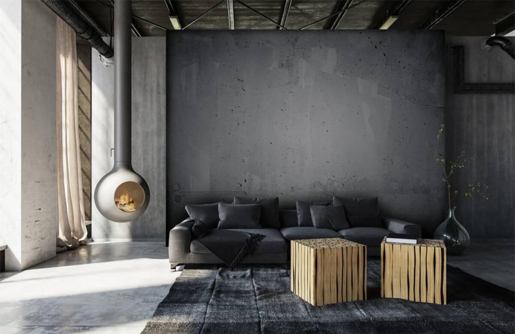 Concrete look wallpaper - Raw concrete - Management 6