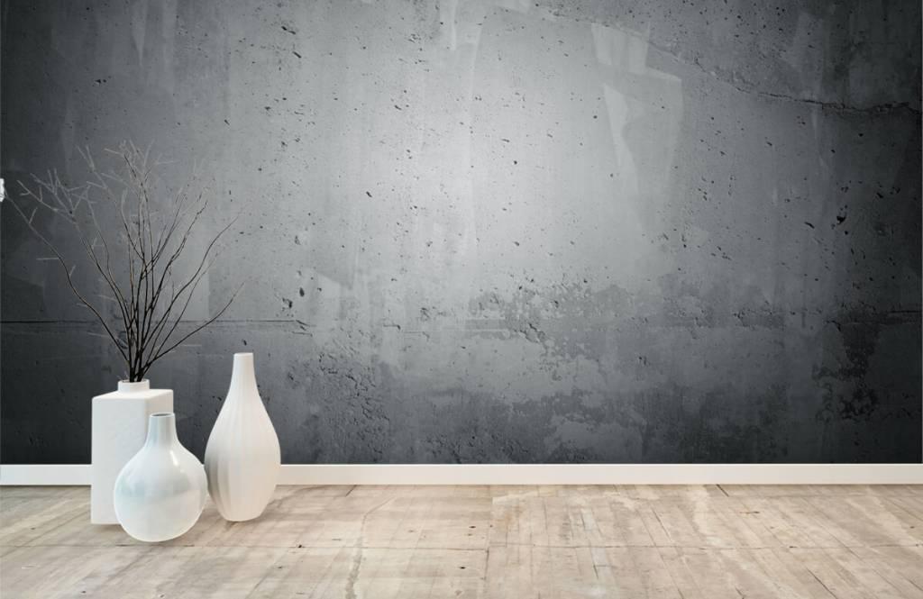 Concrete look wallpaper - Raw concrete - Management 8