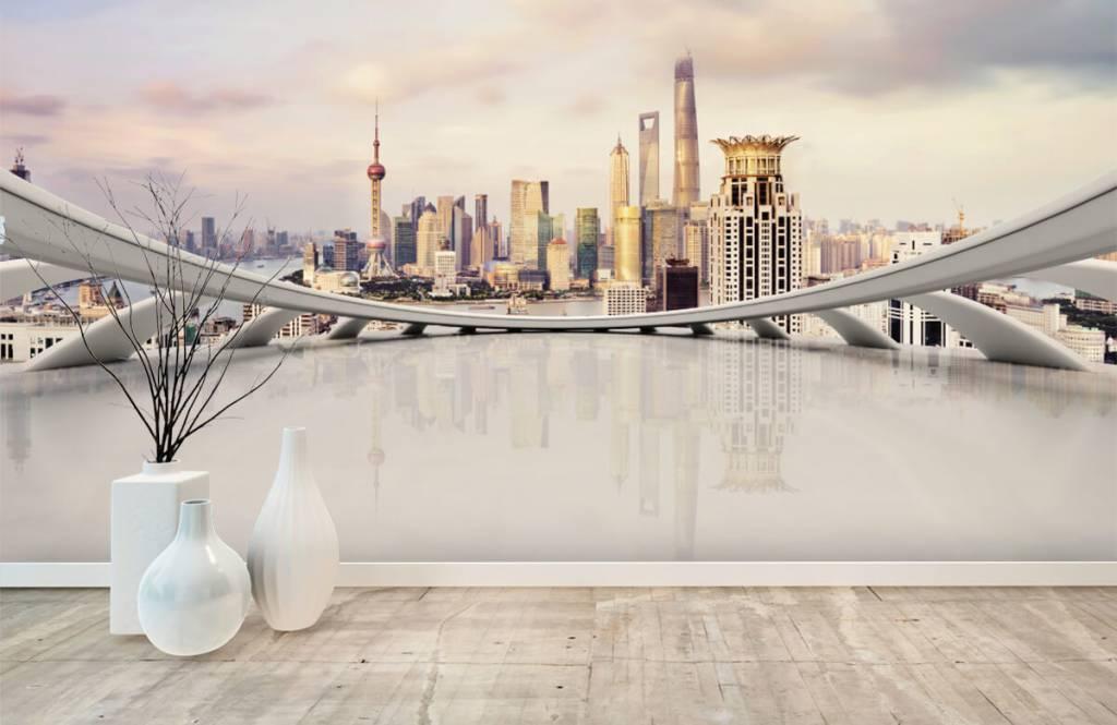 Skylines - Skyline of Shanghai - Computer room 2