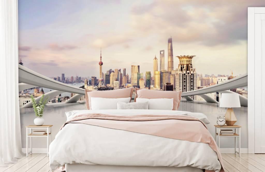 Skylines - Skyline of Shanghai - Computer room 3