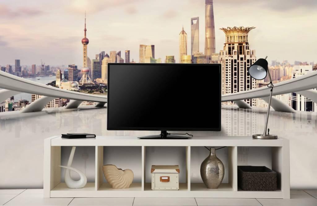 Skylines - Skyline of Shanghai - Computer room 6