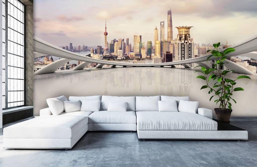 Skylines - Skyline of Shanghai - Computer room 7
