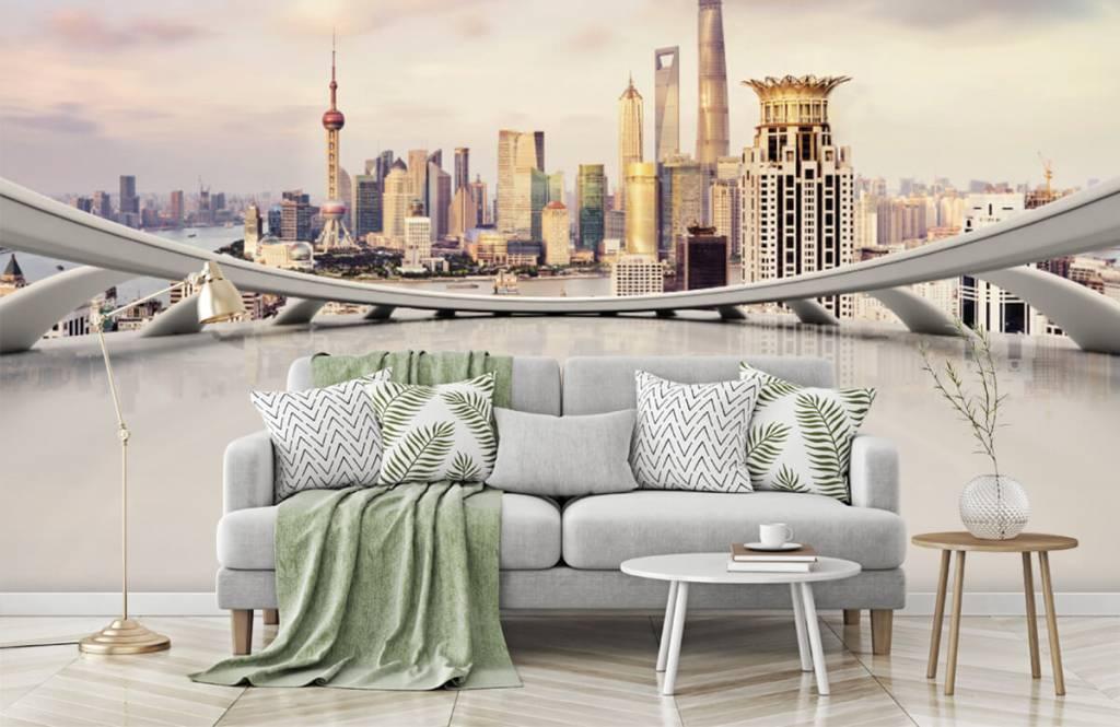 Skylines - Skyline of Shanghai - Computer room 8