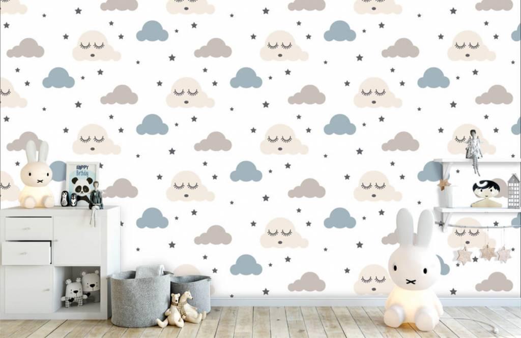 Baby wallpaper - Dormant clouds - Baby room 5