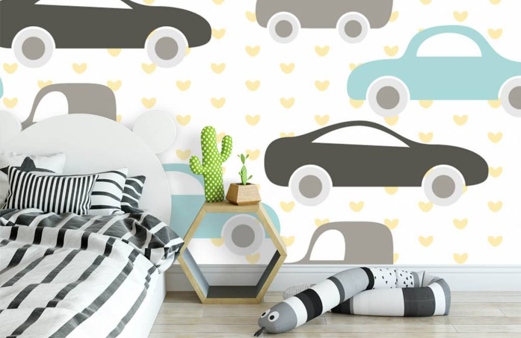 Baby wallpaper - Toy Cars - Baby room 1