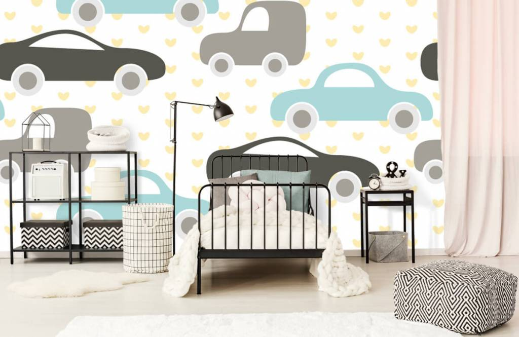 Baby wallpaper - Toy Cars - Baby room 2