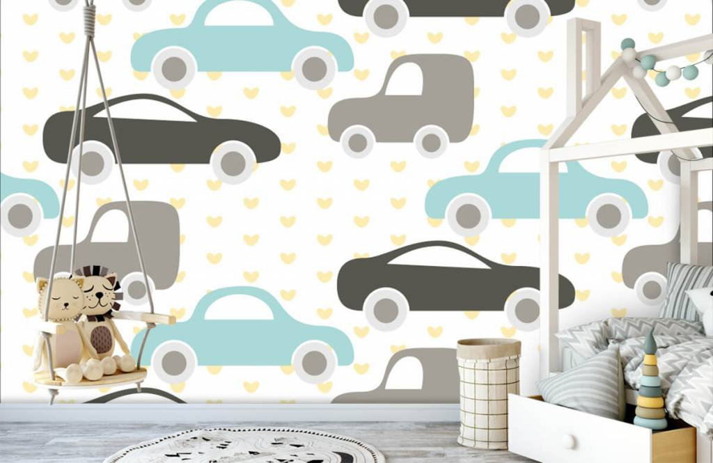 Baby wallpaper - Toy Cars - Baby room 3