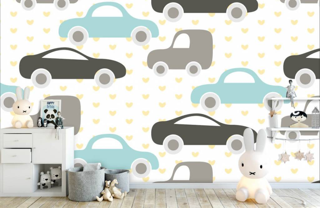 Baby wallpaper - Toy Cars - Baby room 4