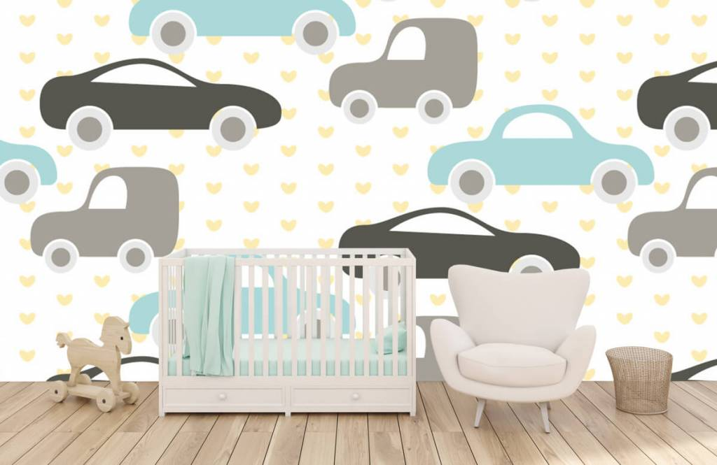 Baby wallpaper - Toy Cars - Baby room 5
