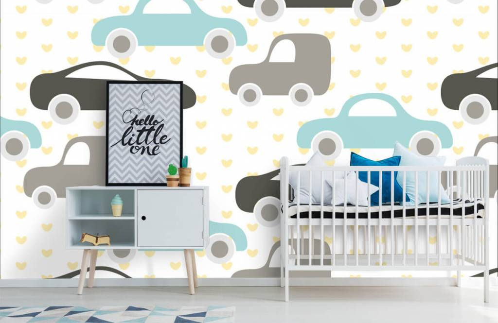 Baby wallpaper - Toy Cars - Baby room 6