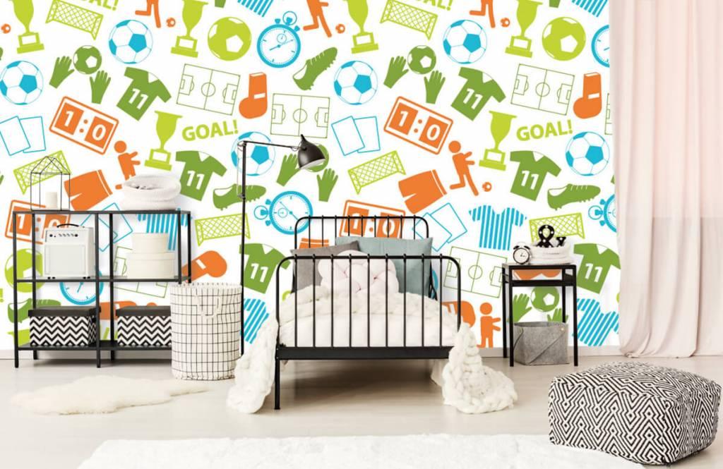 Patterns - Sport illustrations - Children's room 1