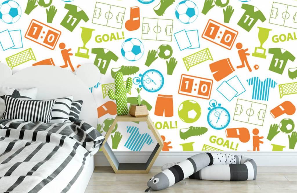 Patterns - Sport illustrations - Children's room 2