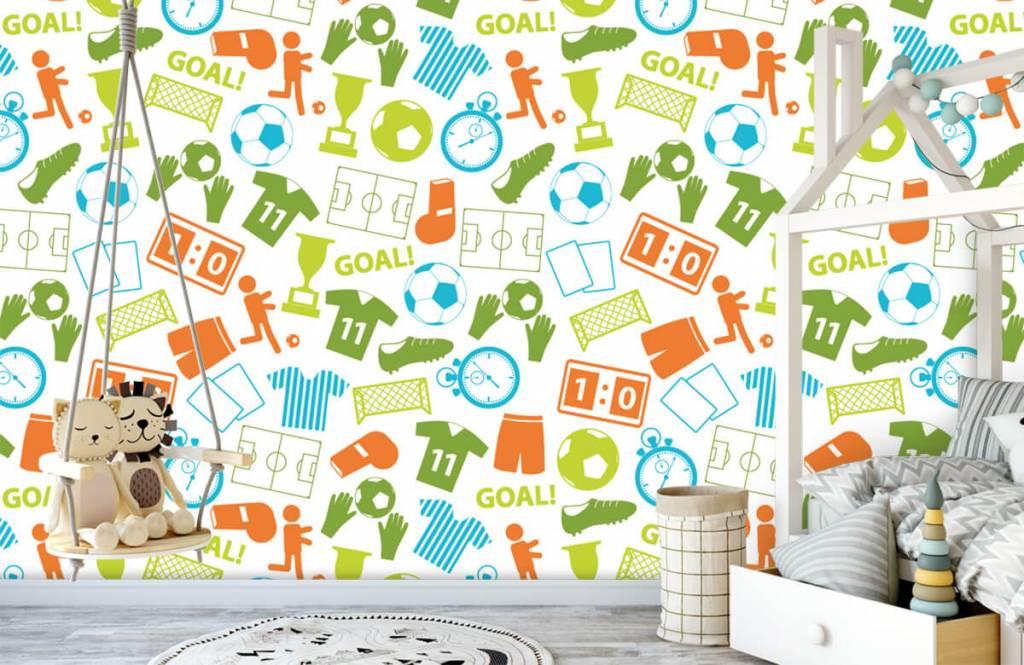 Patterns - Sport illustrations - Children's room 3