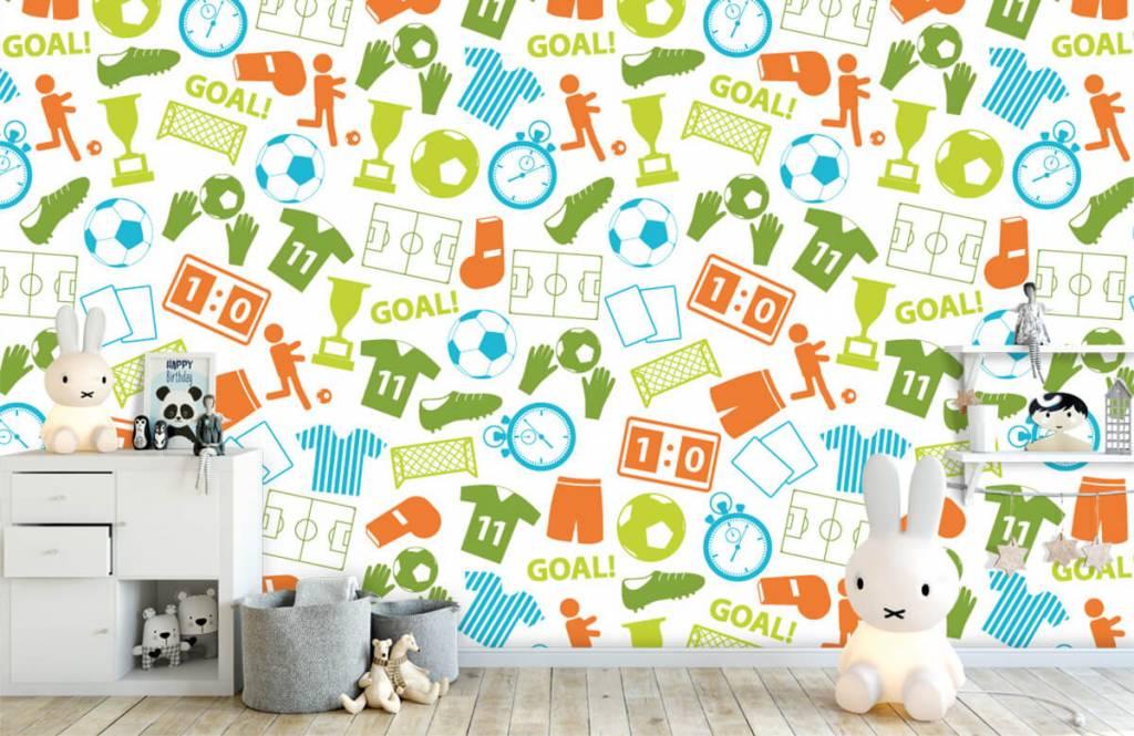 Patterns - Sport illustrations - Children's room 4