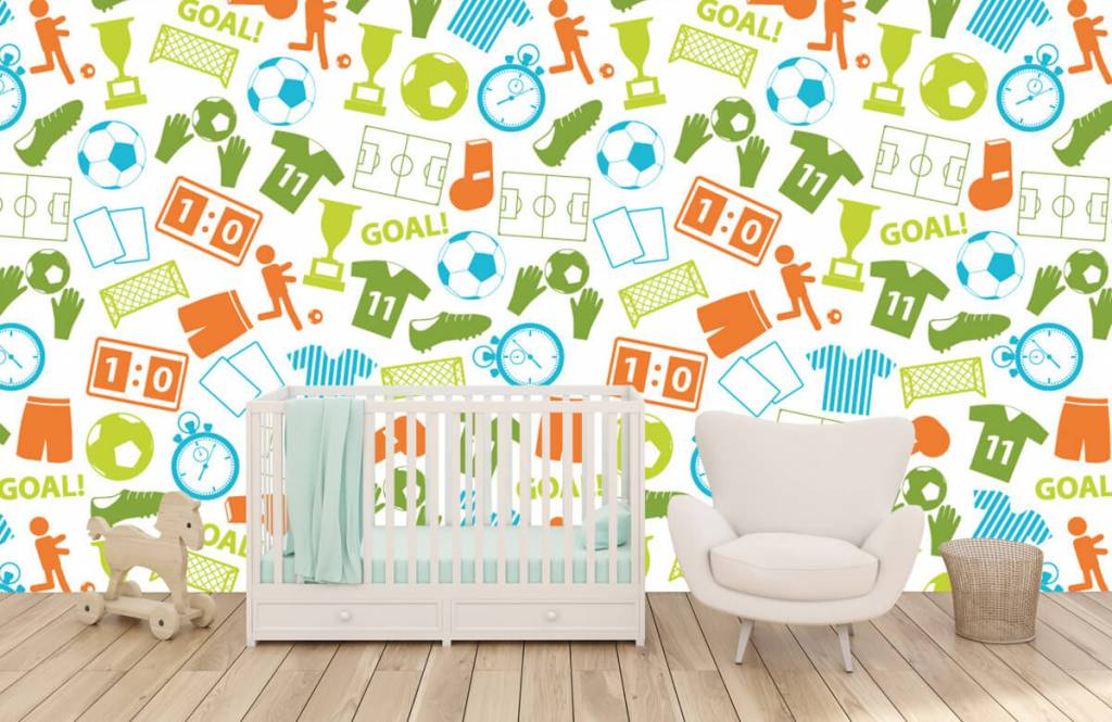 Patterns - Sport illustrations - Children's room 5