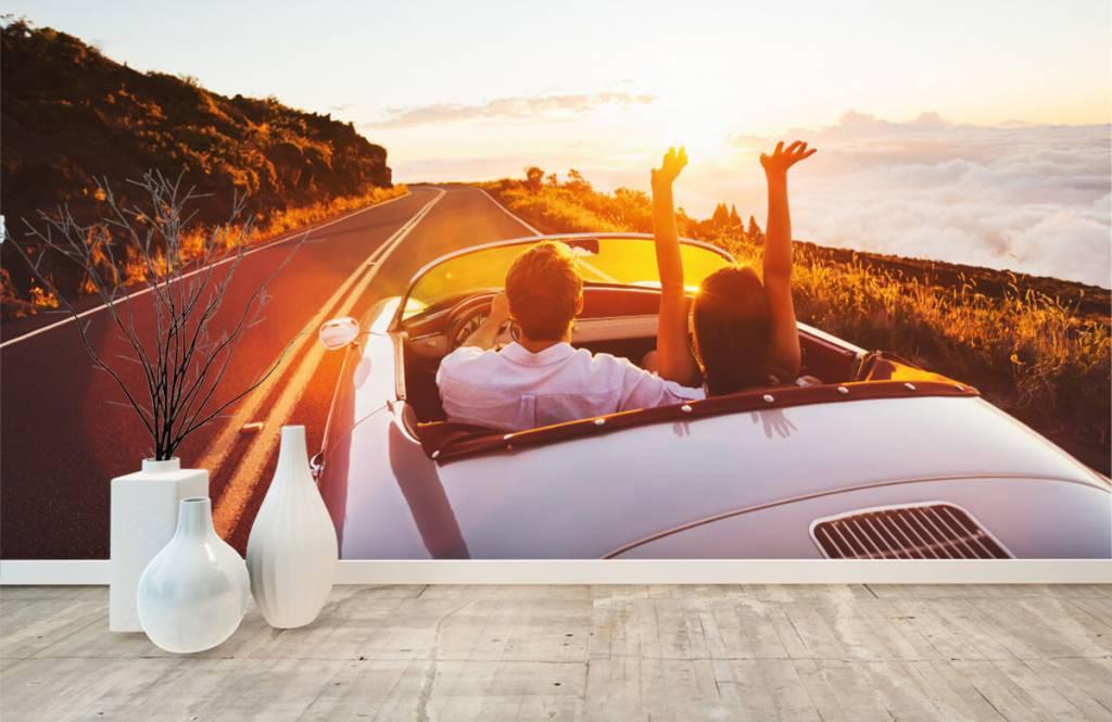 Transportation - Sunset driving - Teenage room 1