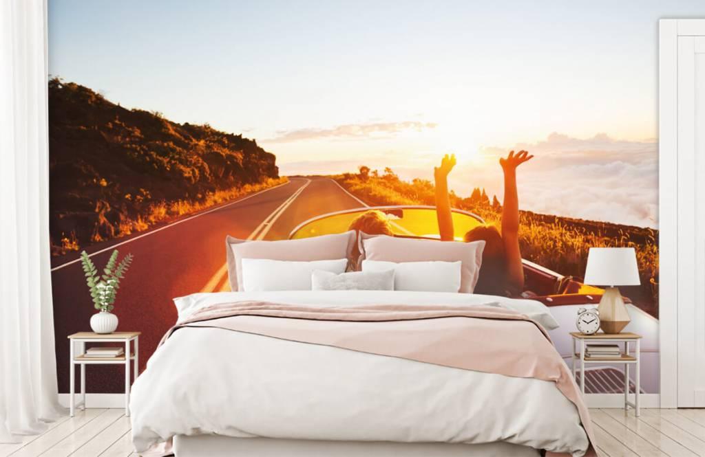 Transportation - Sunset driving - Teenage room 2