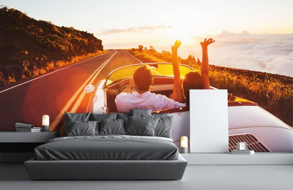 Transportation - Sunset driving - Teenage room 3