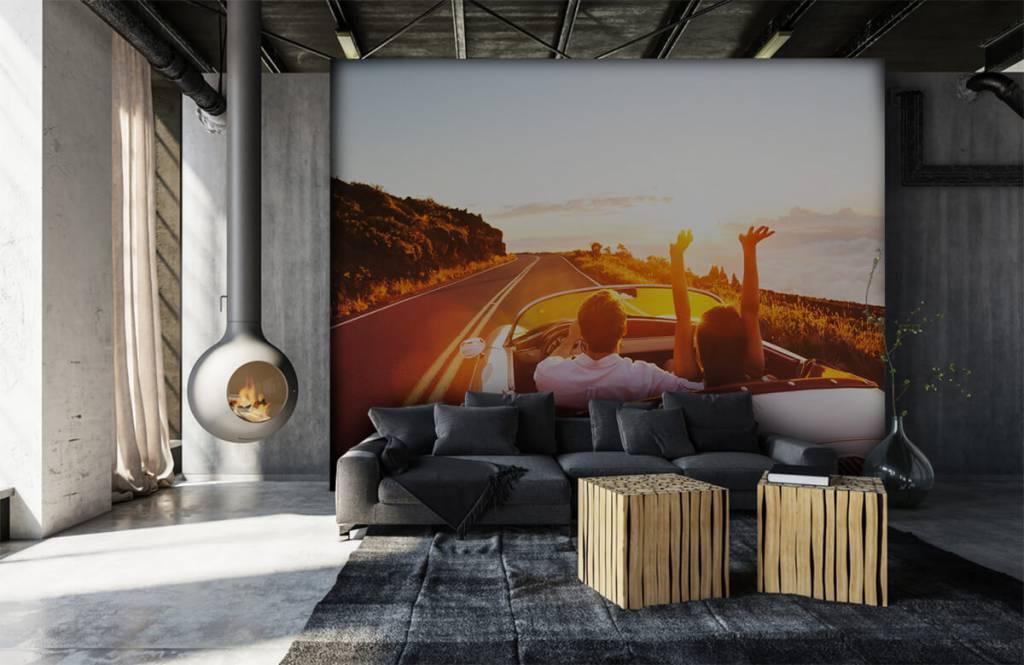 Transportation - Sunset driving - Teenage room 7