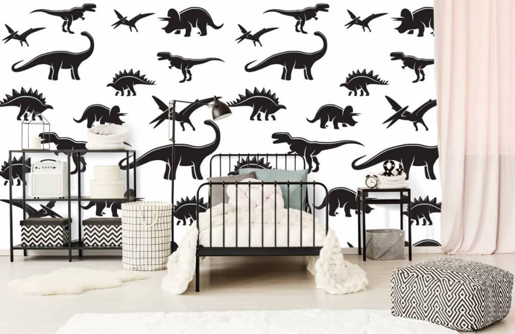 Dinosaurs - Black dinosaurs - Children's room 2