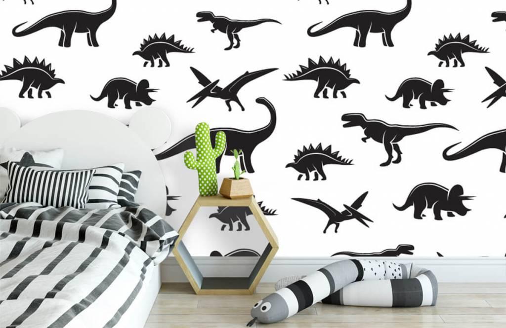 Dinosaurs - Black dinosaurs - Children's room 3