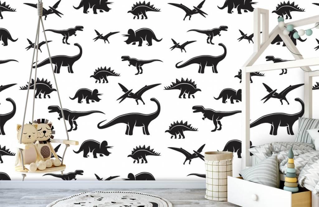 Dinosaurs - Black dinosaurs - Children's room 4