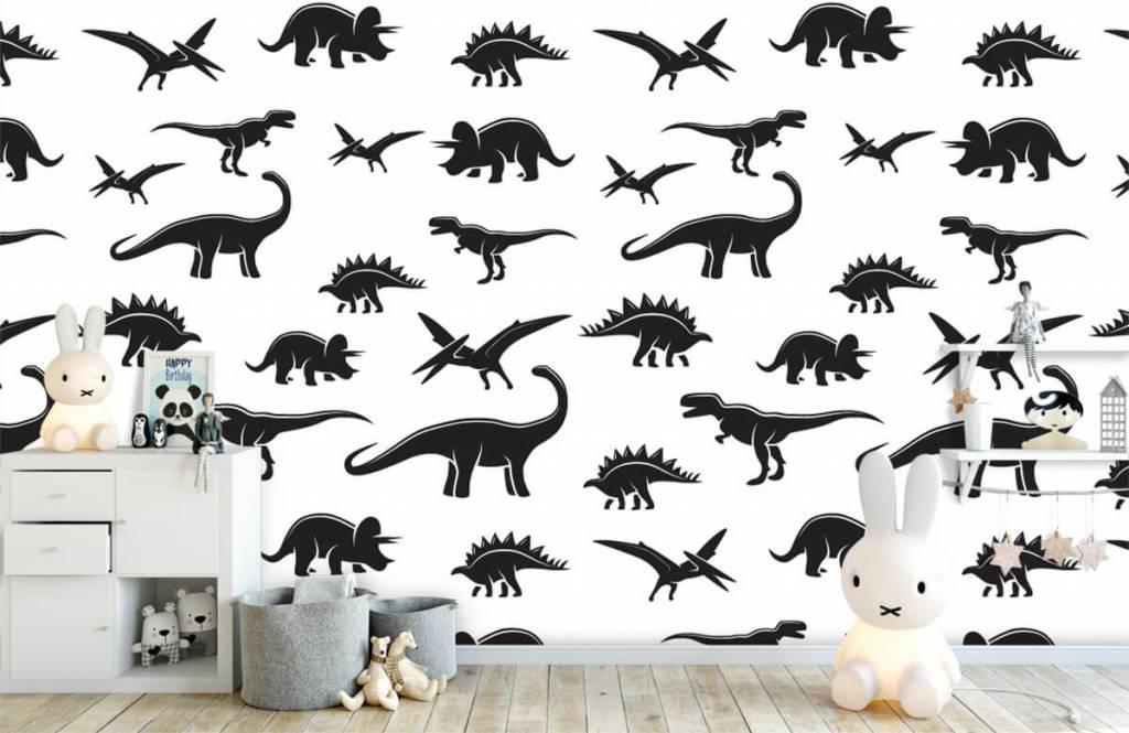 Dinosaurs - Black dinosaurs - Children's room 5