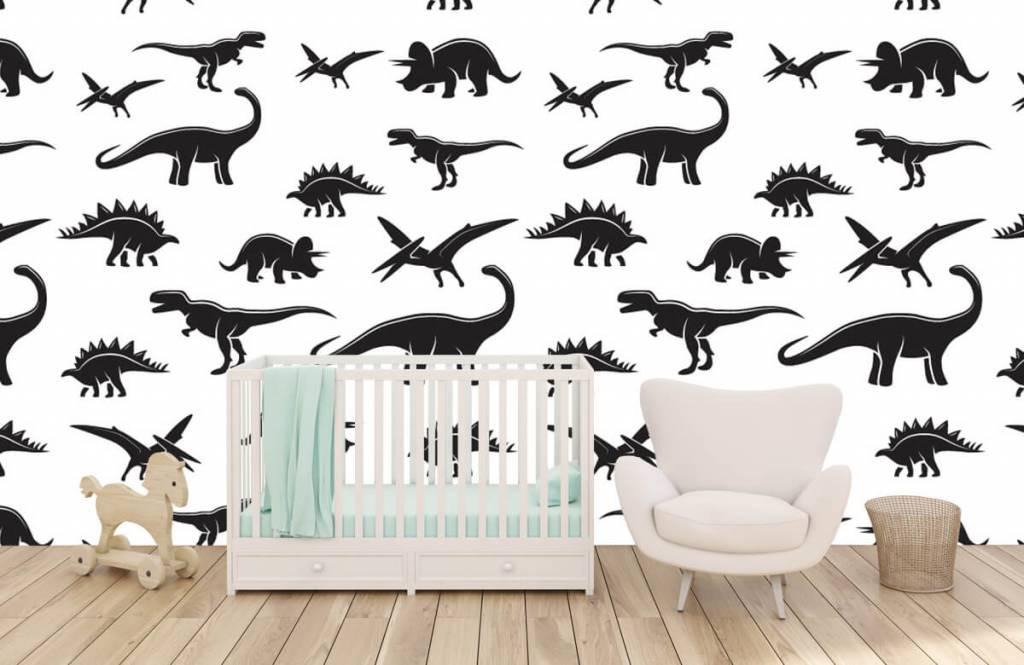 Dinosaurs - Black dinosaurs - Children's room 6