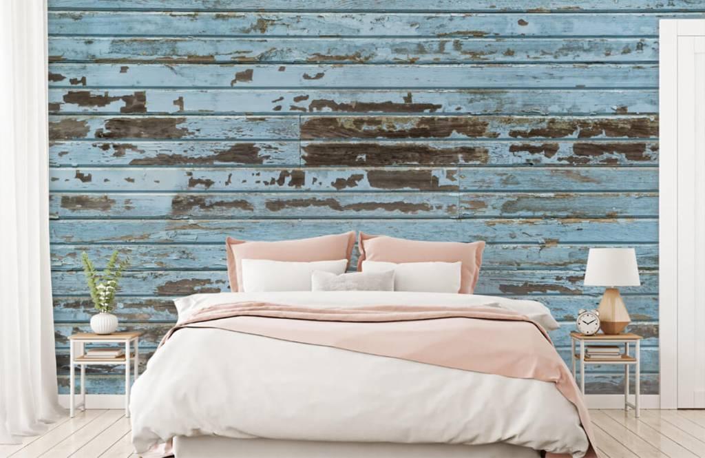 Wooden wallpaper - Vintage wood - Bedroom 2