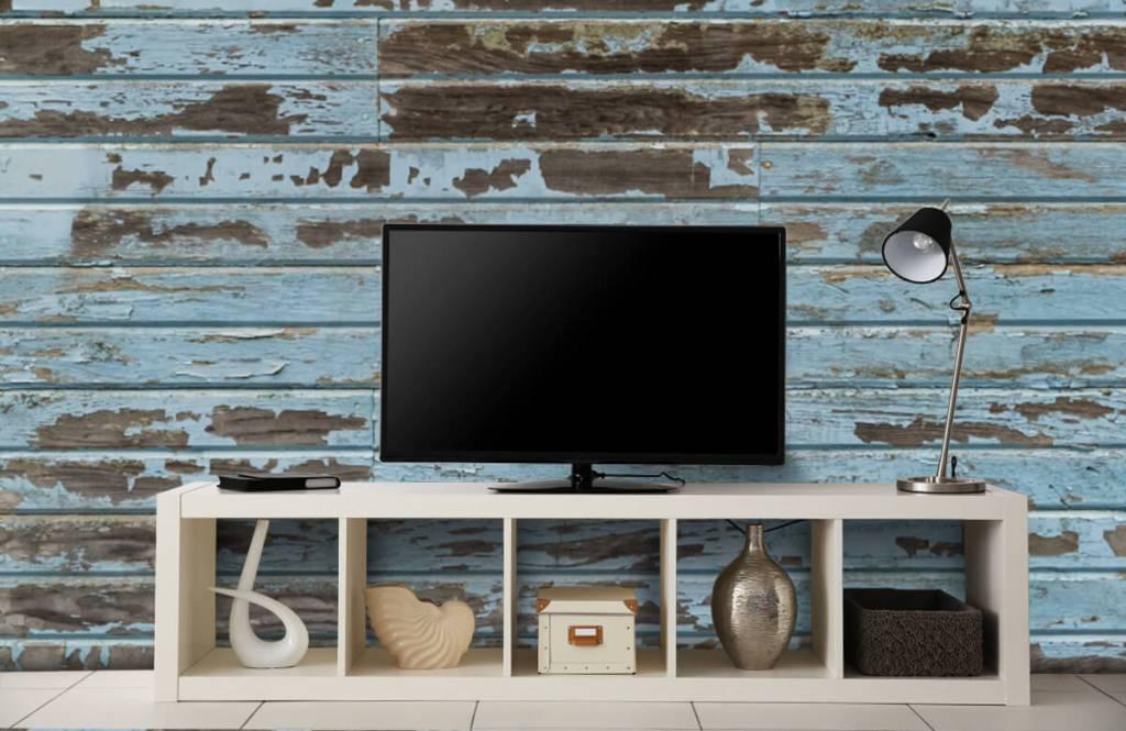 Wooden wallpaper - Vintage wood - Bedroom 4