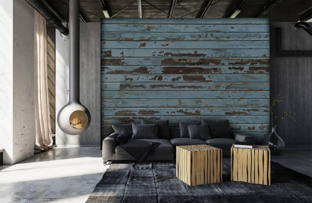 Wooden wallpaper - Vintage wood - Bedroom 6