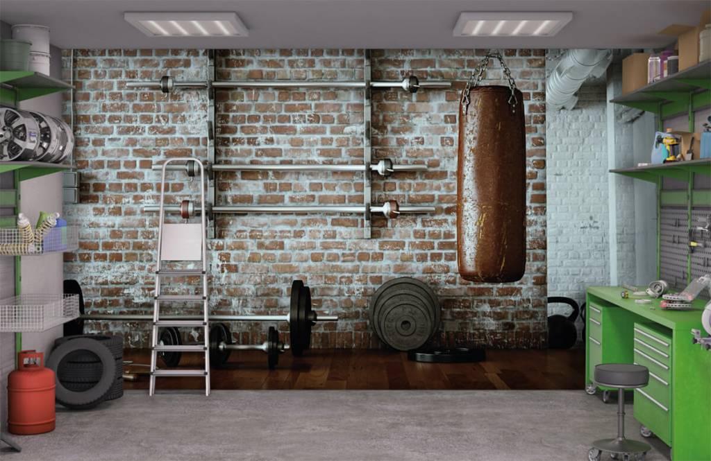 Fitness - Vintage gym items - Hobby room 1