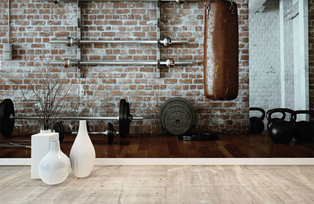Fitness - Vintage gym items - Hobby room 8