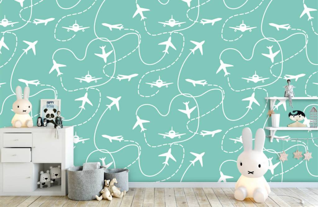 Other - Aircraft and lines - Children's room 1