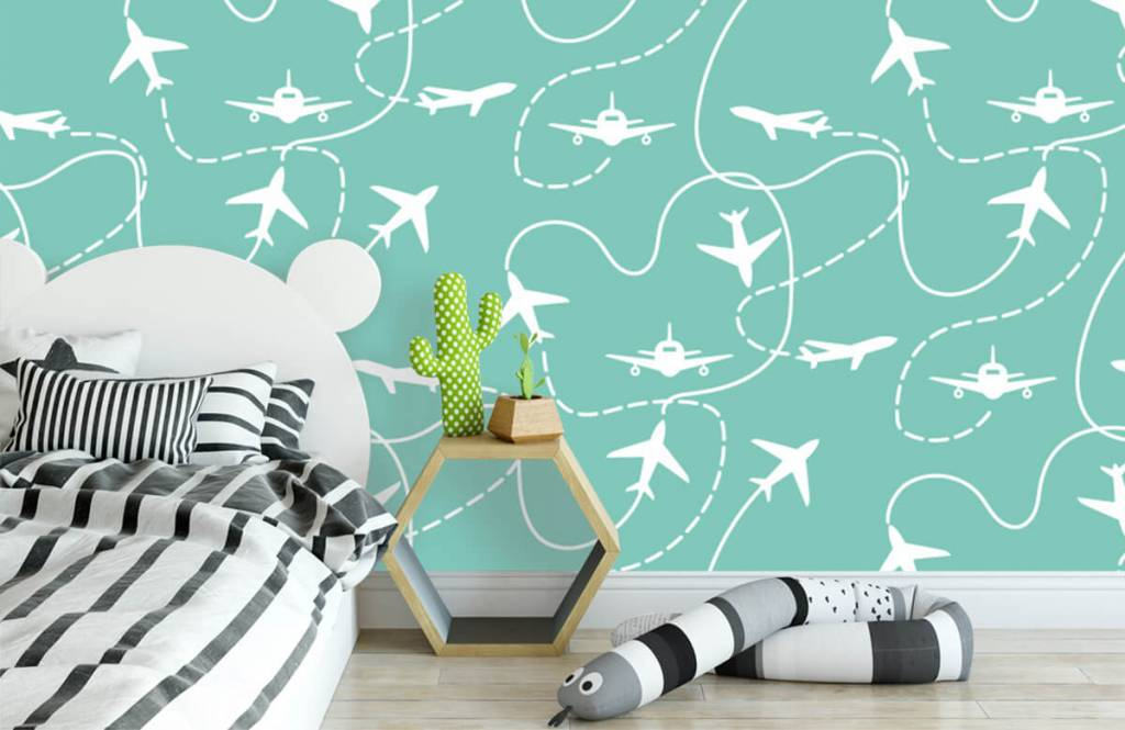 Other - Aircraft and lines - Children's room 3