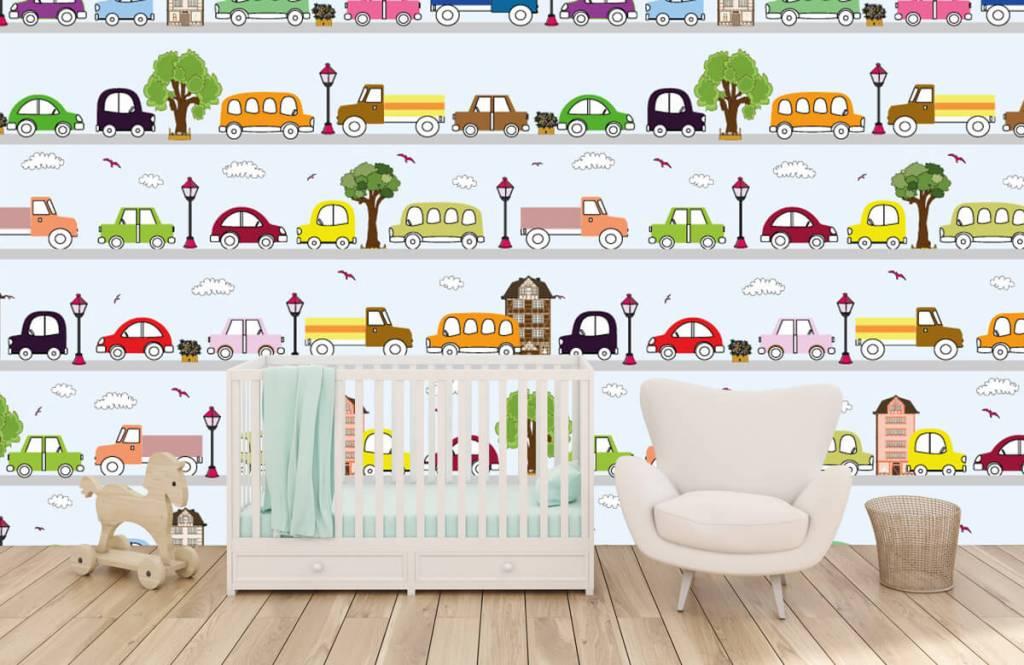 Baby wallpaper - Vehicles - Baby room 1