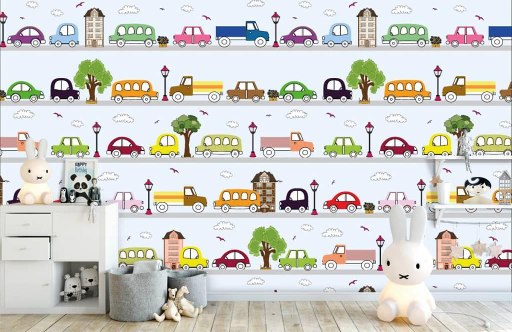 Baby wallpaper - Vehicles - Baby room 2