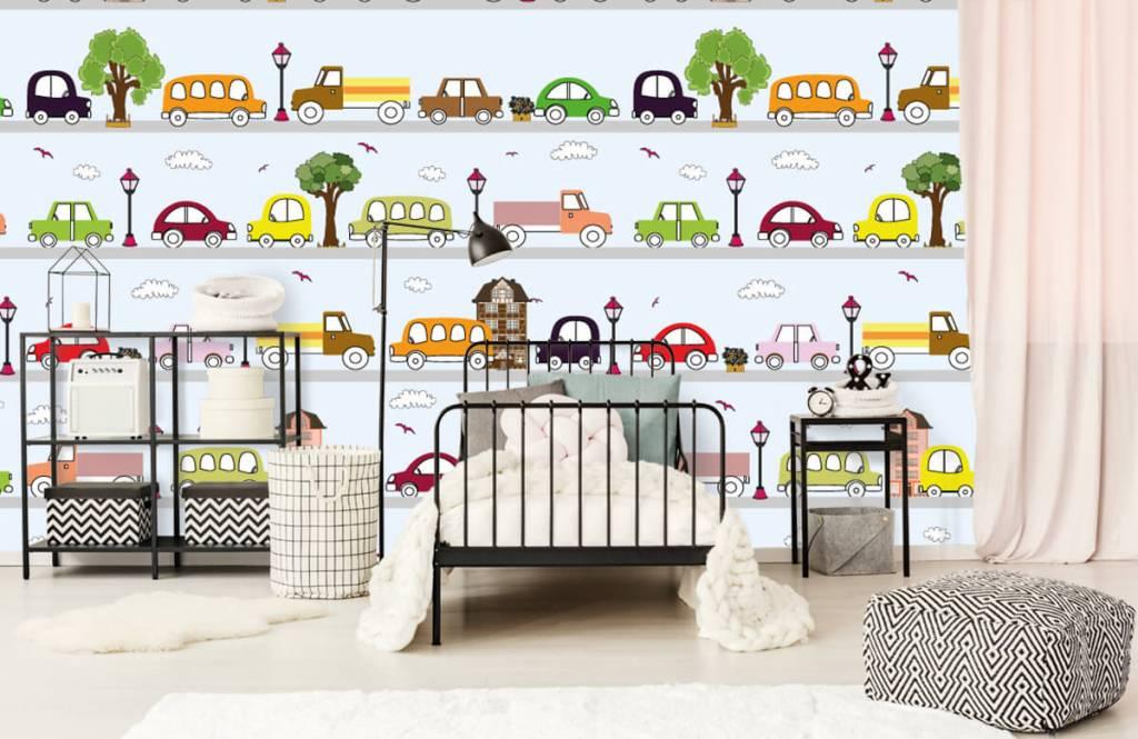 Baby wallpaper - Vehicles - Baby room 3