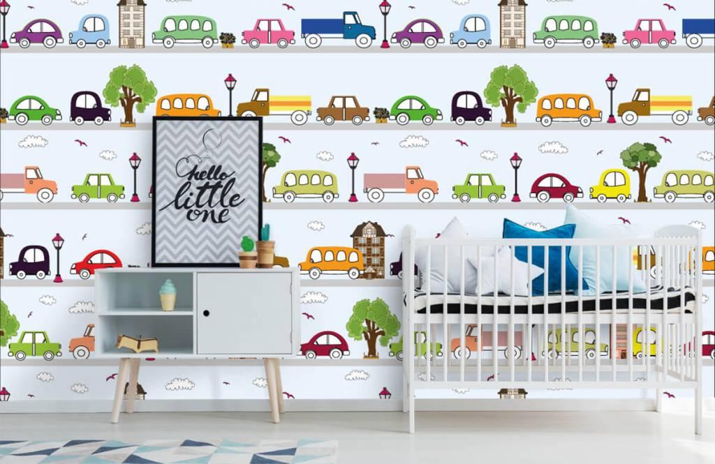 Baby wallpaper - Vehicles - Baby room 5