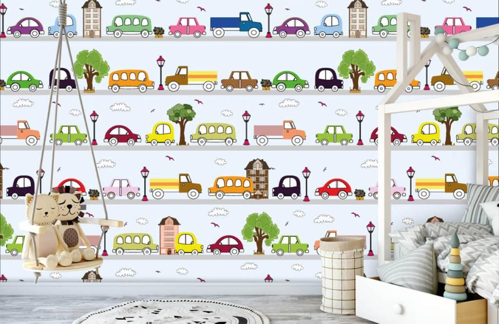 Baby wallpaper - Vehicles - Baby room 6