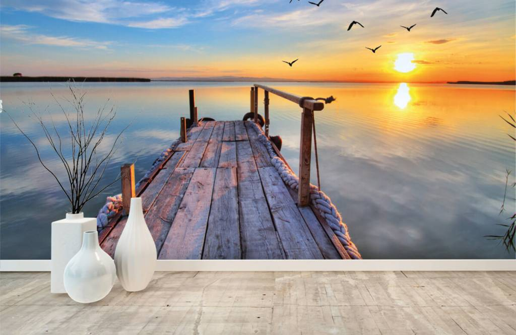 Lakes and Waters - Birds above the sea - Bedroom 1