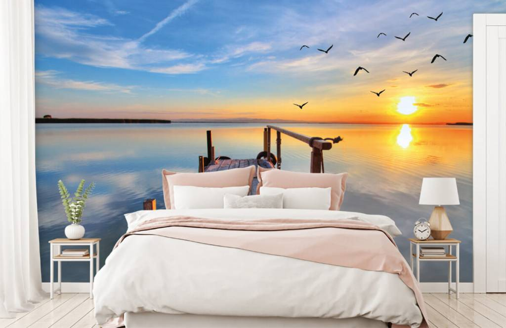 Lakes and Waters - Birds above the sea - Bedroom 2