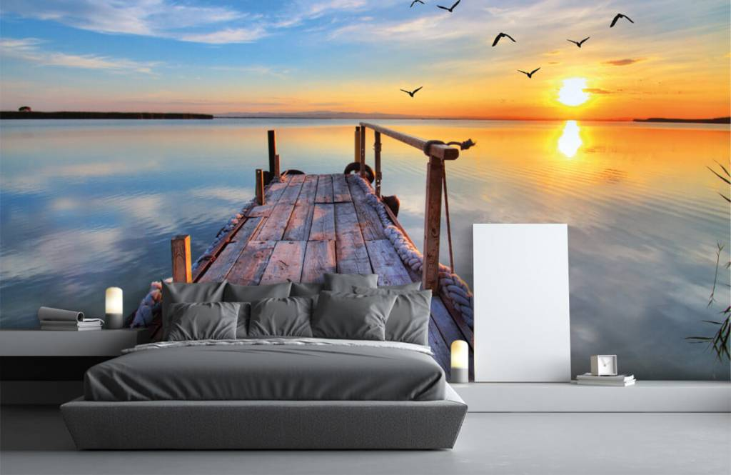 Lakes and Waters - Birds above the sea - Bedroom 3