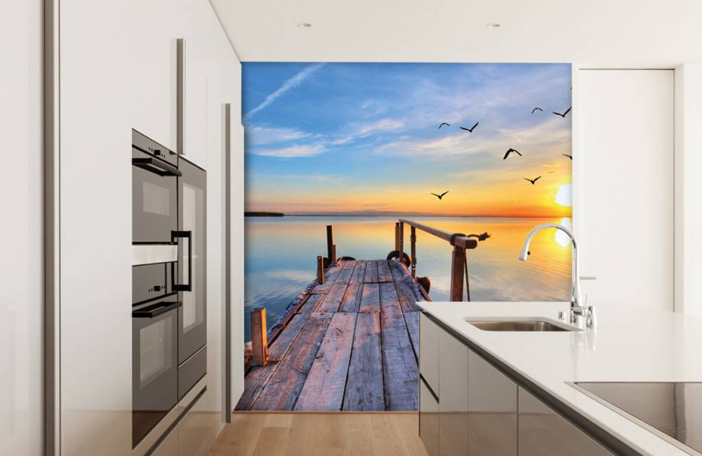 Lakes and Waters - Birds above the sea - Bedroom 4