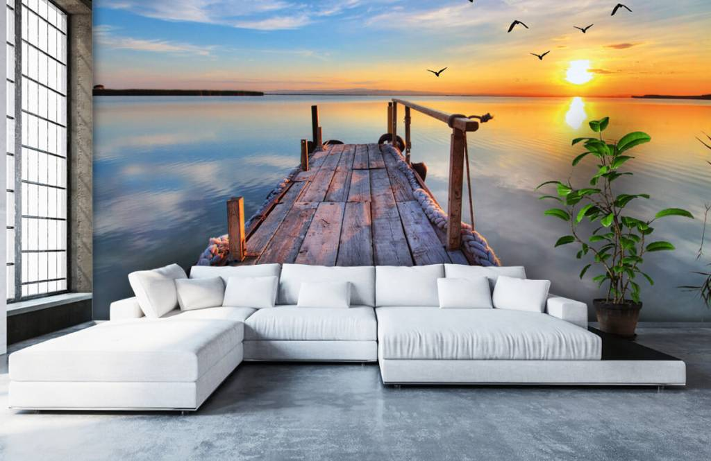Lakes and Waters - Birds above the sea - Bedroom 6