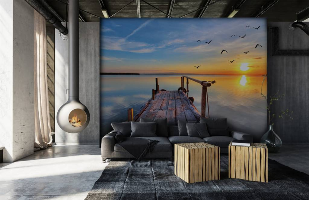 Lakes and Waters - Birds above the sea - Bedroom 7