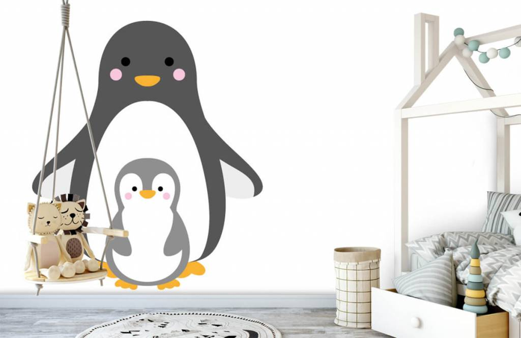 Other - Cheerful penguins - Children's room 4