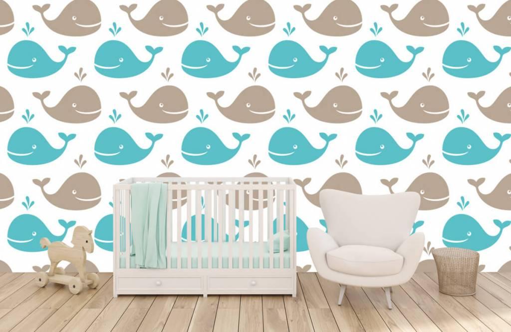 Aquatic Animals - Whales - Children's room 1