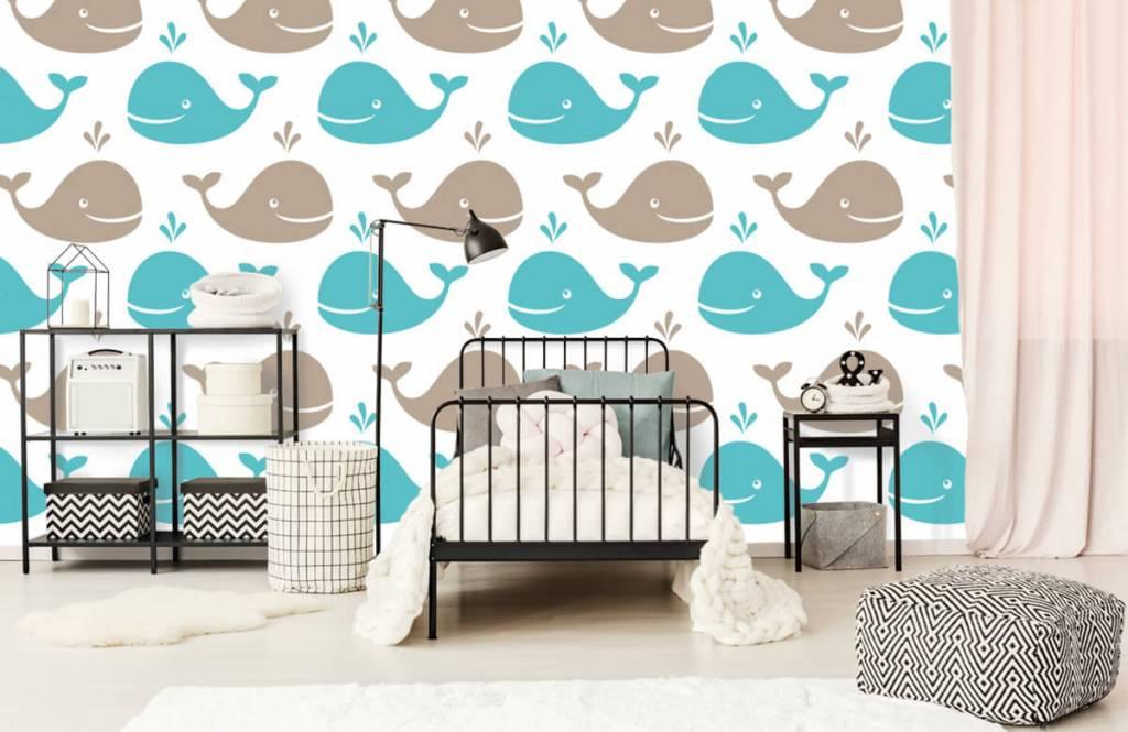 Aquatic Animals - Whales - Children's room 2